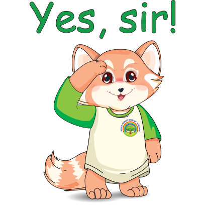 Lester the Lesser Panda messages sticker-1