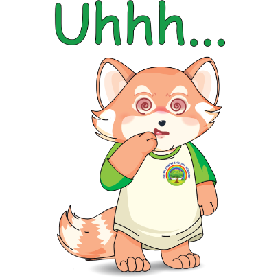 Lester the Lesser Panda messages sticker-9