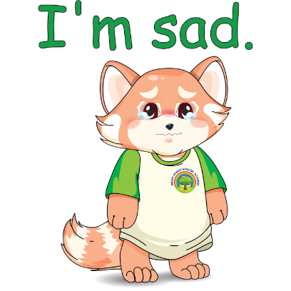 Lester the Lesser Panda messages sticker-7