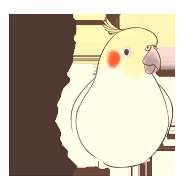 小可愛搞怪鳥家族 messages sticker-10