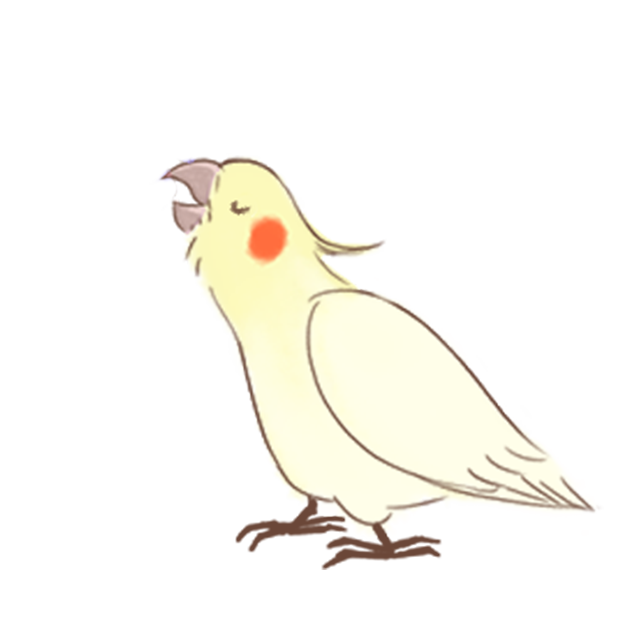 小可愛搞怪鳥家族 messages sticker-4