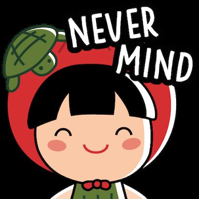Ang Ku Kueh Girl - Pack 4 messages sticker-0