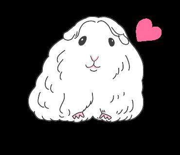 fluffy-white-friends messages sticker-11