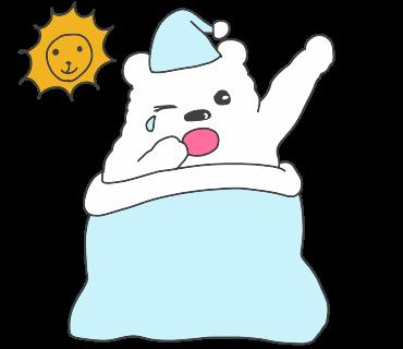 fluffy-white-friends messages sticker-0