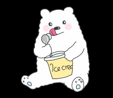 fluffy-white-friends messages sticker-6