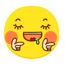 Yellow wave emoticon pack messages sticker-11