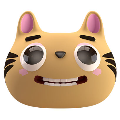 Max - 3D Cat Sticker Pack messages sticker-10