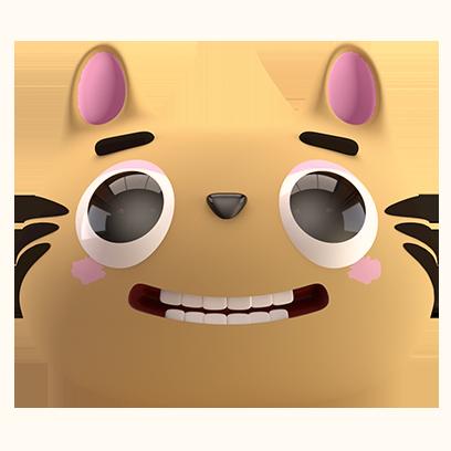 Max - 3D Cat Sticker Pack messages sticker-11