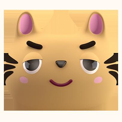 Max - 3D Cat Sticker Pack messages sticker-4