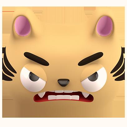 Max - 3D Cat Sticker Pack messages sticker-3