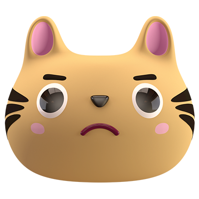 Max - 3D Cat Sticker Pack messages sticker-5