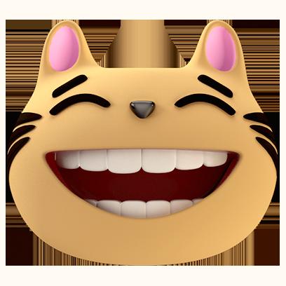 Max - 3D Cat Sticker Pack messages sticker-1
