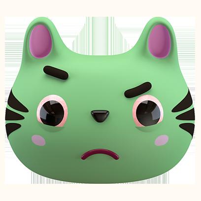 Max - 3D Cat Sticker Pack messages sticker-9