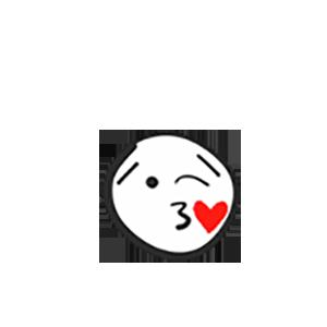 Smile Pencil Sticker messages sticker-0
