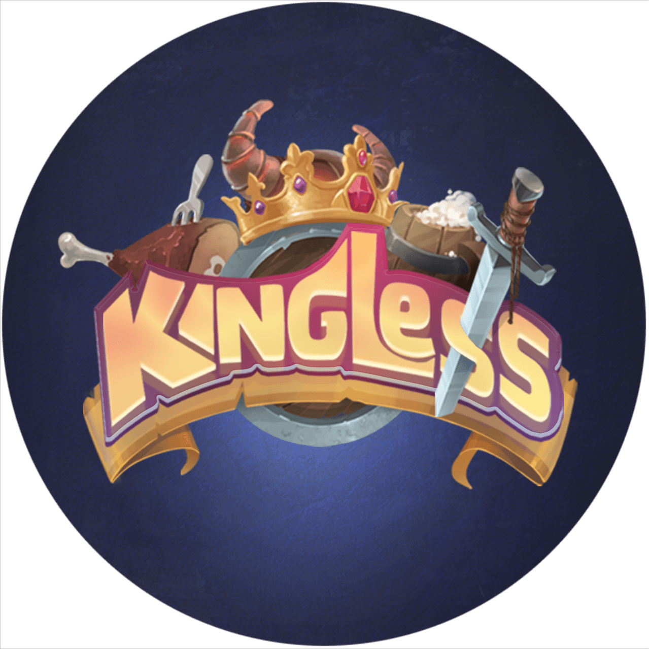 Kingless messages sticker-2