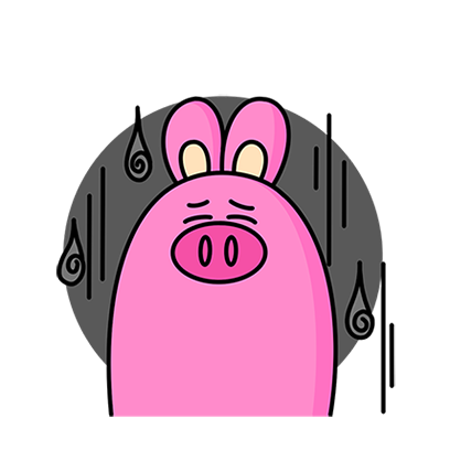 KKURI - 돼끼의 하루 messages sticker-3