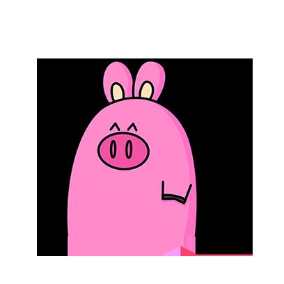 KKURI - 돼끼의 하루 messages sticker-8