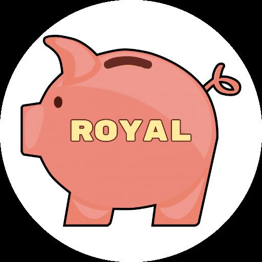 Royal - Catch a coin messages sticker-2