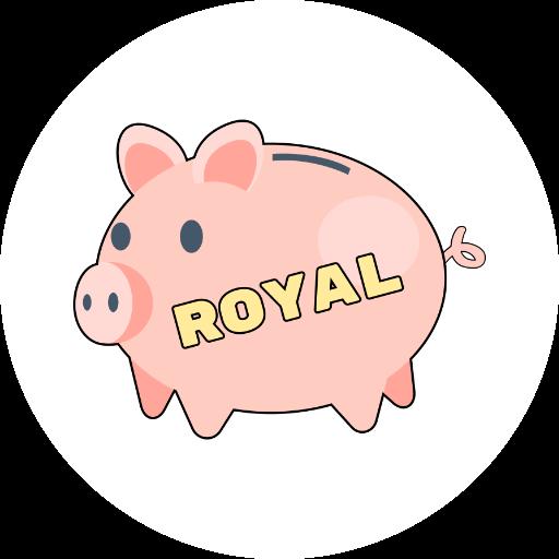 Royal - Catch a coin messages sticker-8