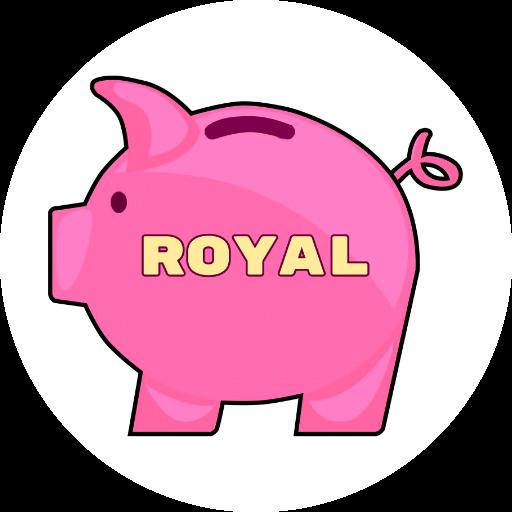 Royal - Catch a coin messages sticker-5