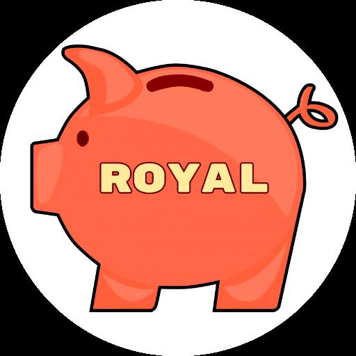 Royal - Catch a coin messages sticker-3