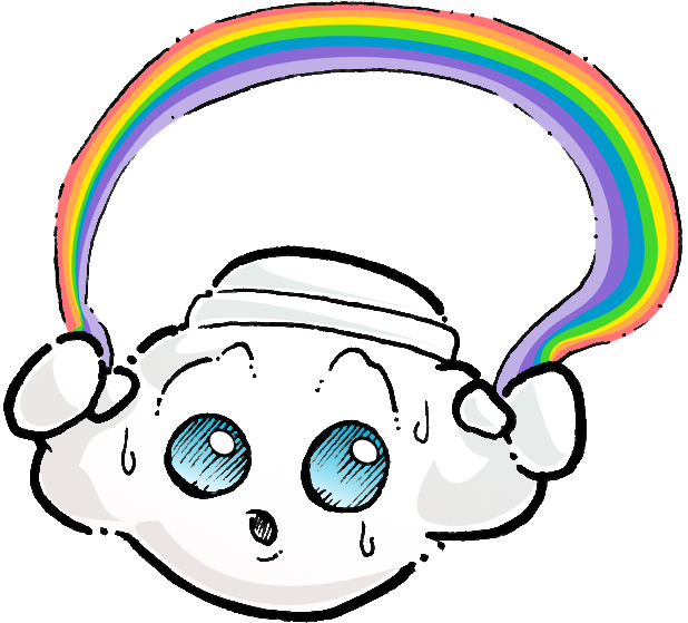 Oliver Cast The Cloud Stickers messages sticker-6
