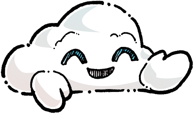 Oliver Cast The Cloud Stickers messages sticker-1