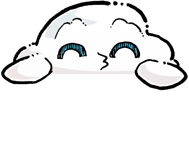 Oliver Cast The Cloud Stickers messages sticker-11