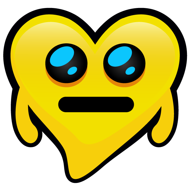 Yellow Hearts stickers messages sticker-11