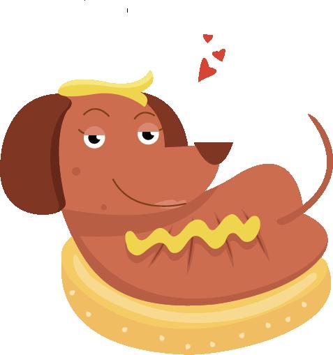 Hot Diggity Dog messages sticker-3