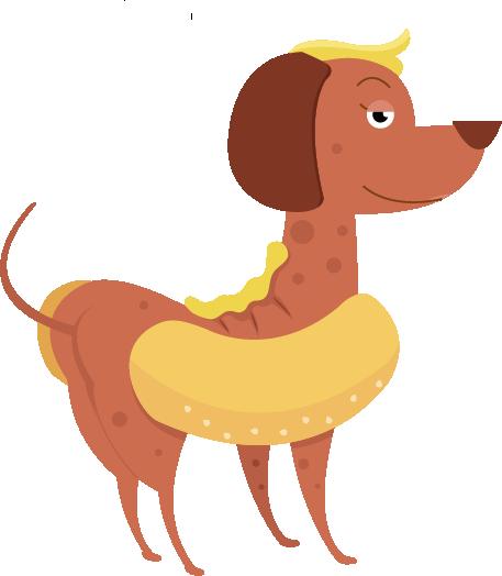 Hot Diggity Dog messages sticker-4