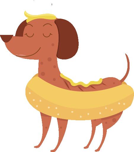 Hot Diggity Dog messages sticker-6