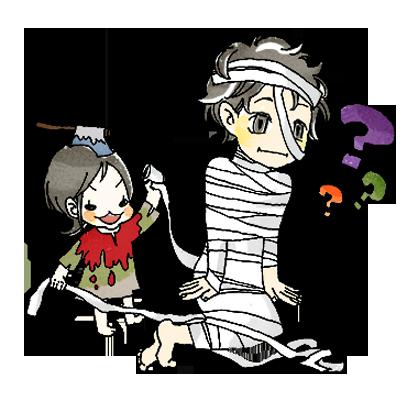 スーパーねねにゃん ハロウィンステッカー messages sticker-8