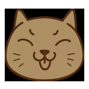 cat face emoji messages sticker-5