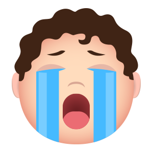 Crazyboy emoji messages sticker-4