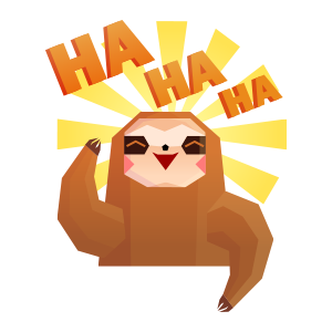Crazy monkey emoji stickers messages sticker-7