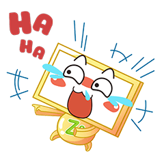 Nhãn Dán Chàng Vuông messages sticker-2