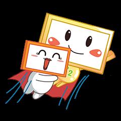 Nhãn Dán Chàng Vuông messages sticker-1