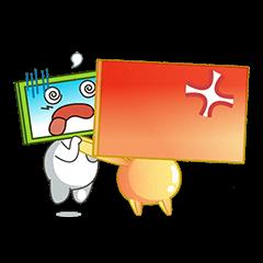 Nhãn Dán Chàng Vuông messages sticker-7