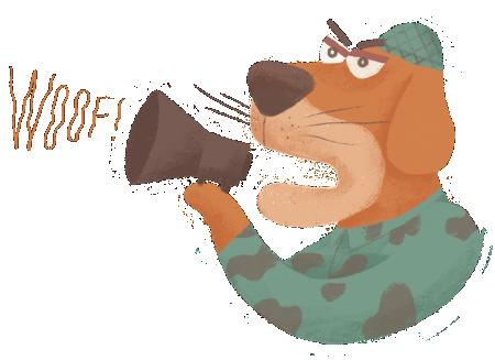 Dogs Gone Wild messages sticker-5