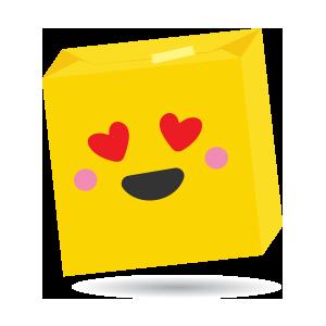 box gift emoji stickers messages sticker-7