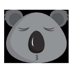 bearface pro emoji messages sticker-11