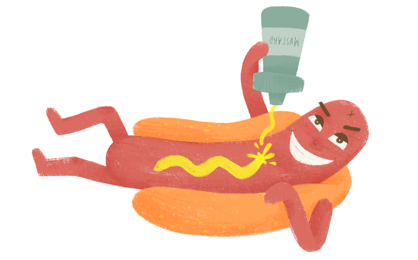 Smok'n Wieners messages sticker-3