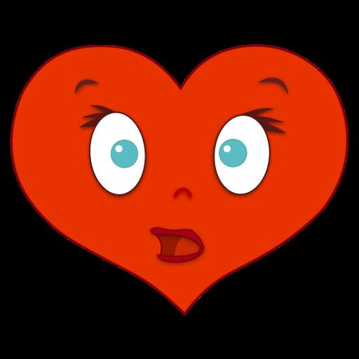 Hearts Emotio Stickers messages sticker-10