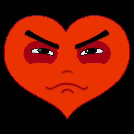 Hearts Emotio Stickers messages sticker-7