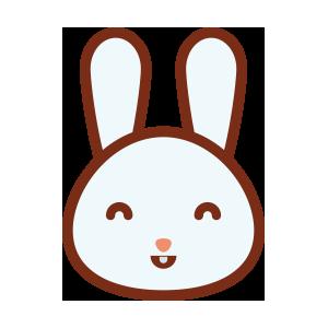 rabbitmoji 01 sticker messages sticker-0