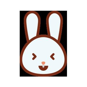 rabbitmoji 01 sticker messages sticker-7
