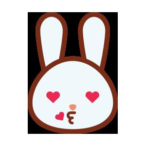 rabbitmoji 01 sticker messages sticker-8