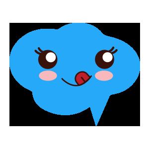 cloudemoji stickers messages sticker-4
