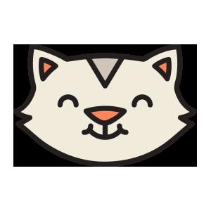 catmoji face sticker 2019 messages sticker-8